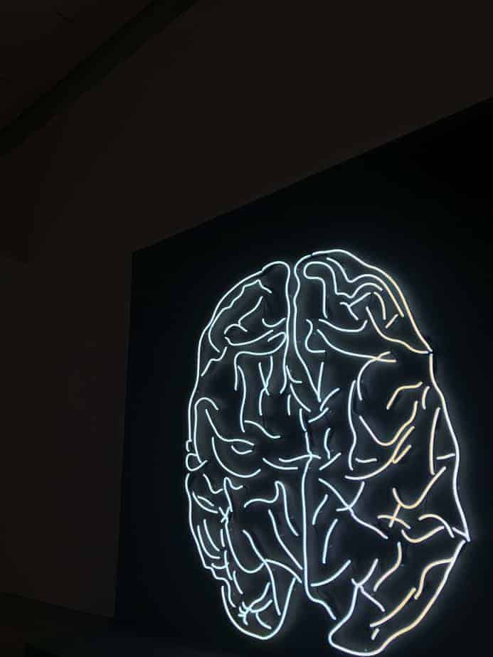 luces LED del cerebro
