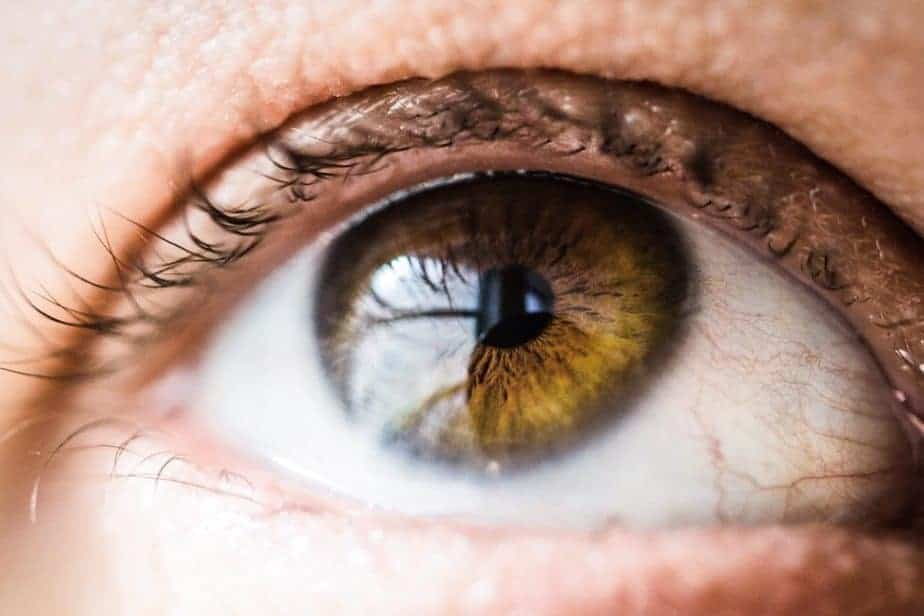 photograph of eye