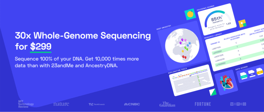 30x Whole-Genome Sequencing - Nebula Genomics