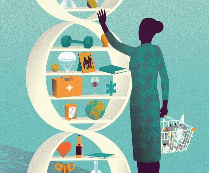 متجر تطبيقات الحمض النووي