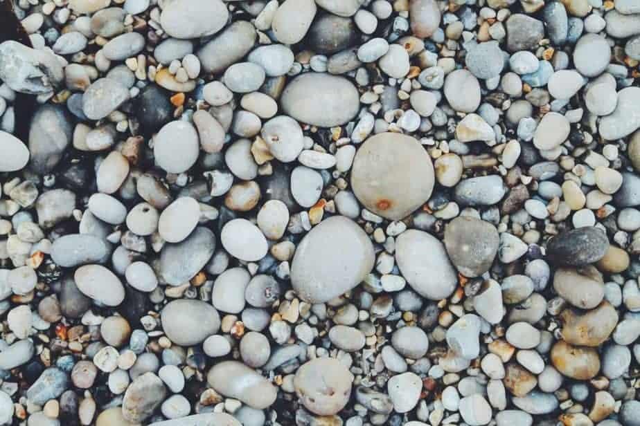 Bild von Steinen unterschiedlicher Größe