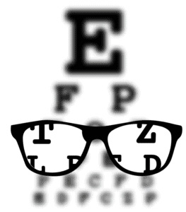 Myopia, or nearsightedness, is the most common refractive error.