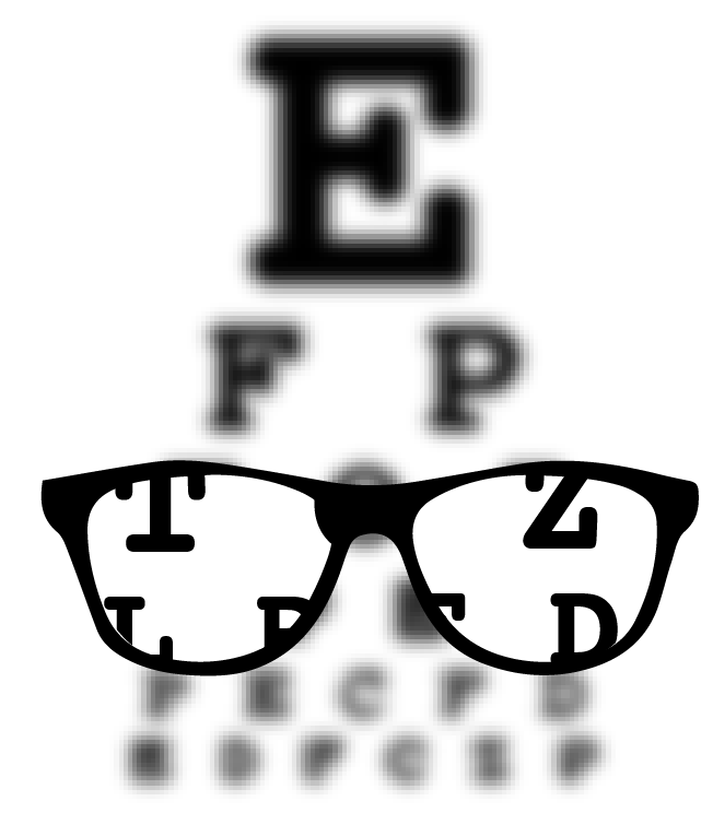 Myopia, or nearsightedness, is the most common refractive error.