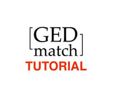 tutorial-gedmatch