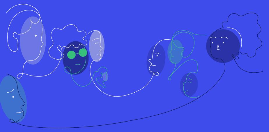 illustration depicting genetic diversity