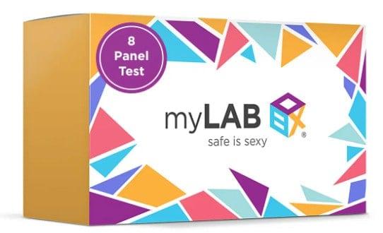 Prueba del panel MyLab Box 8.