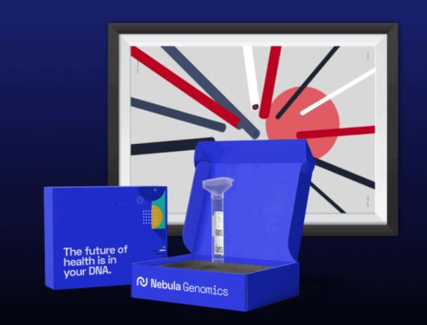 Nebula Genomics-Sammlungskit