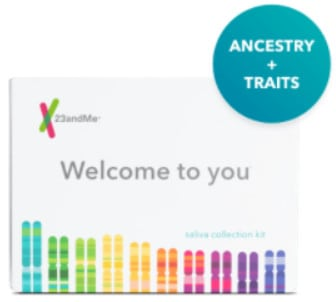 Набор для тестирования предков 23andMe