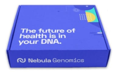 Kit de prueba de Nebula Genomics