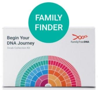 FamilyTreeDNAテストキット
