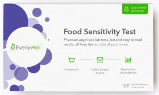 Prueba de sensibilidad alimentaria de Everlywell