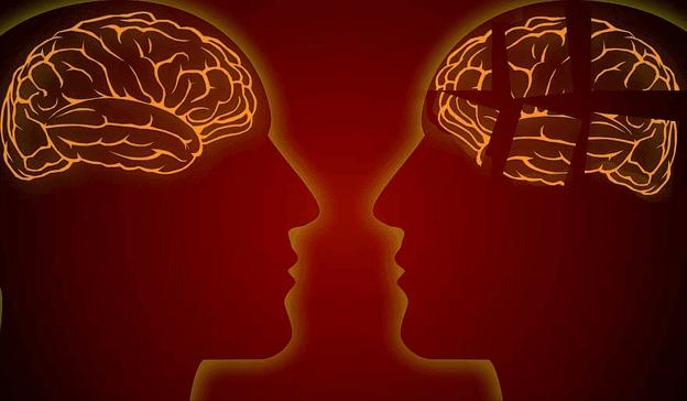 D'autres caractéristiques impliquent un fonctionnement inférieur du cerveau
