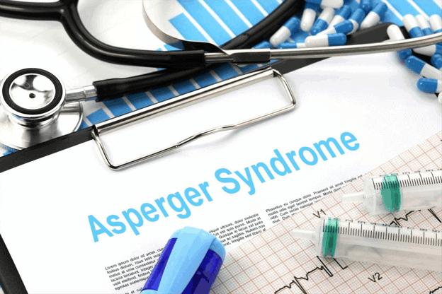 Portapapeles de síndrome de Asperger