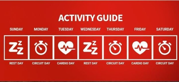 Hydroxycut activity guide
