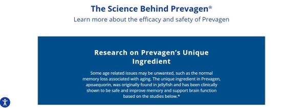 Die Wissenschaft hinter Prevagen