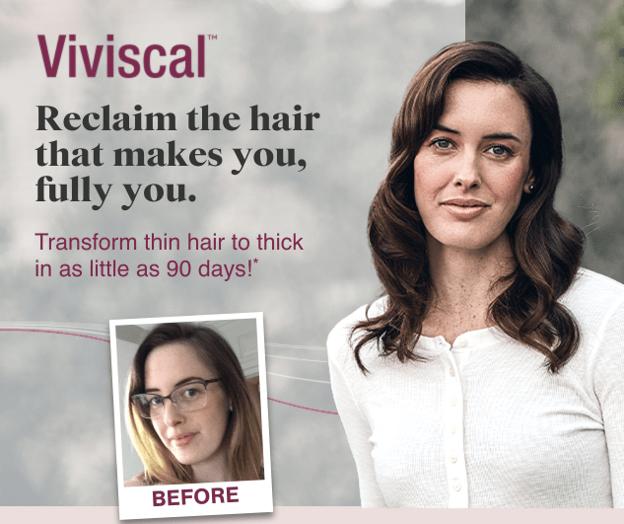 Viviscal advertisement