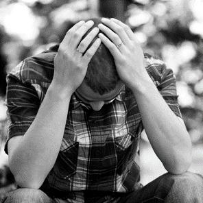 Une personne souffrant de dépression