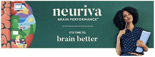 Home page e lema da Neuriva