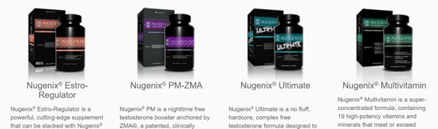 Nugenix PM-ZMA and other products