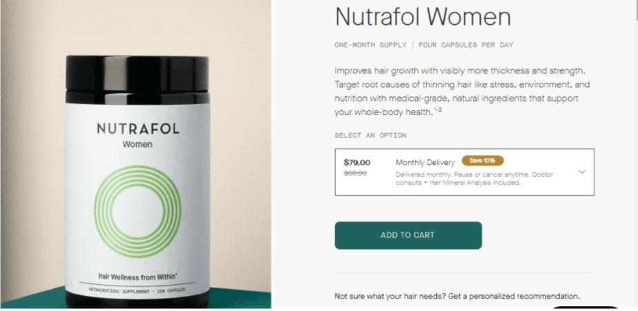النساء Nutrafol