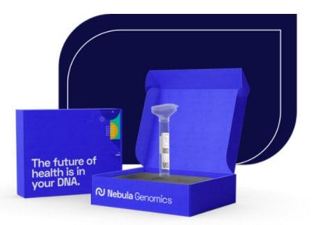 Nebula Genomics DNA testing kit