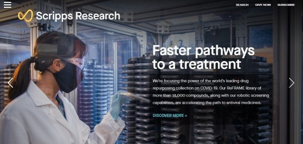 Scripps Research Institute Homepage
