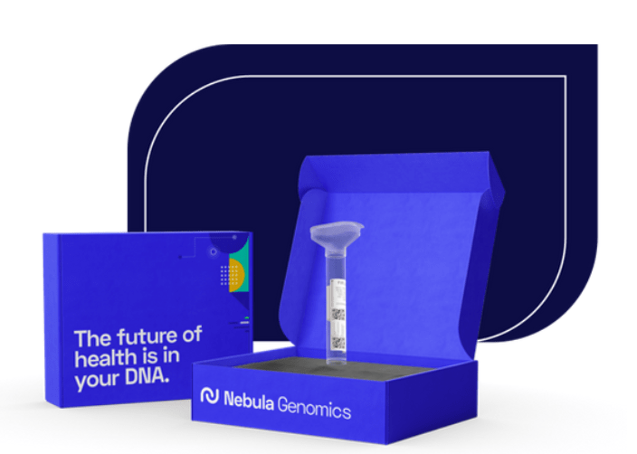 Nebula Genomics DNA testing kit in How much is a DNA test