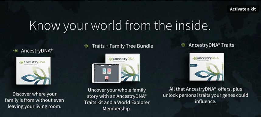 AncestryDNA testing kit in How much is a DNA test