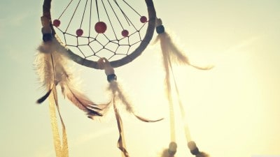 A Native American Dreamcatcher Talisman