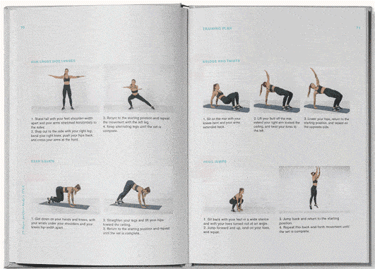 A sample of the Perfect Body DNA book