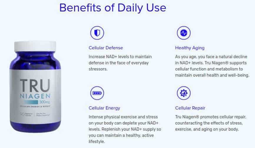 Daily benefits of supplement use