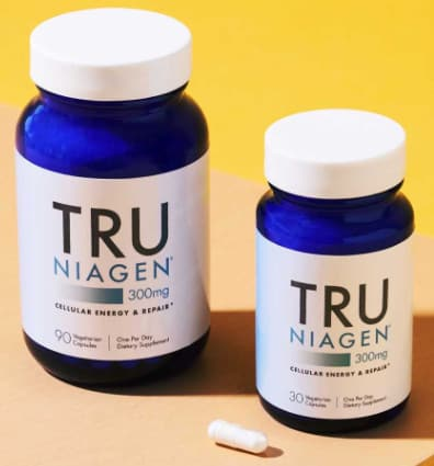 Tru Niagen can be purchased as capsules and portable stick packs.