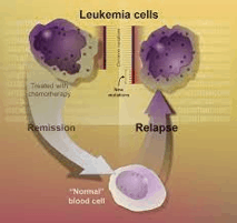 Relapsing cancer cells