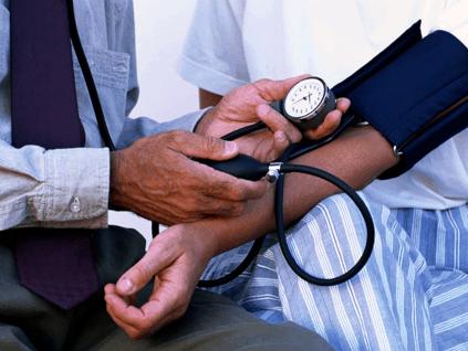 A blood pressure cuff