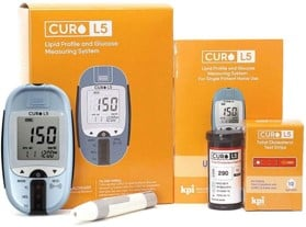 Curo L5 blood cholesterol test for heart health