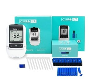 Curo L7 cholesterol test for heart health