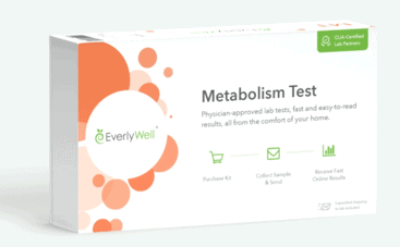 Everlywell metabolism test at home kit