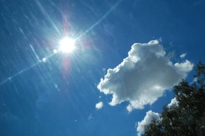 Sunshine produces vitamin D