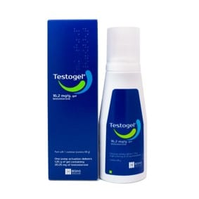 A gel used to treat low testosterone in men
