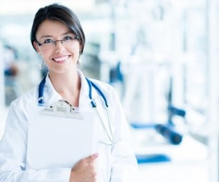 A genetic counselor